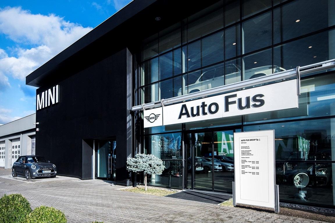 Salon MINI Auto Fus Group