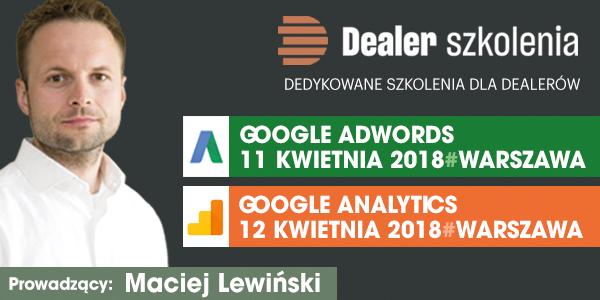 Baner Adwords I Analytics 600x300 Miesięcznik Dealer