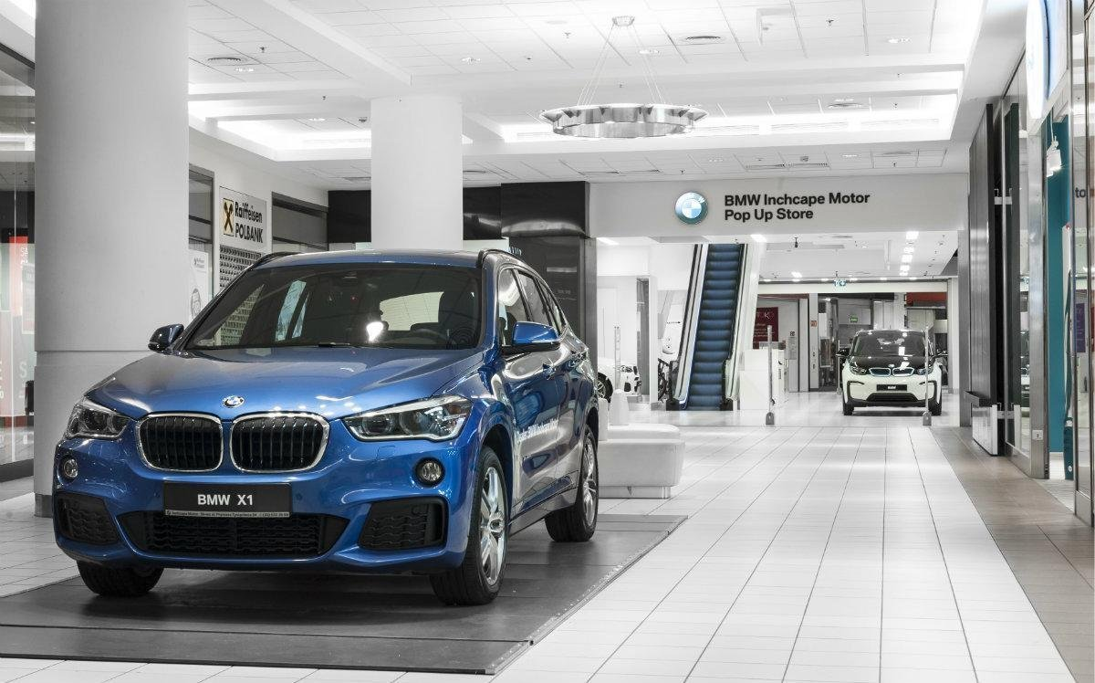BMW Inchcape Motor Pop Up Store