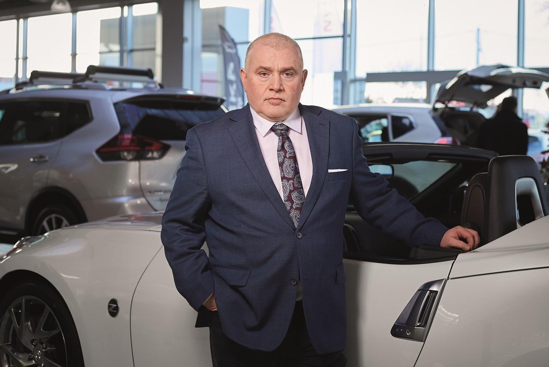 Jerzy Warchoł, prezes firmy Impwar